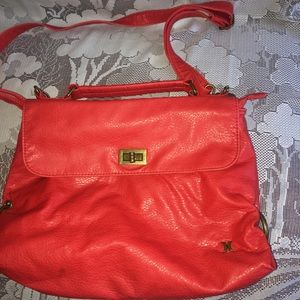 Red hot Hurley purse